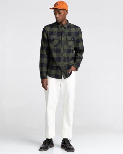 5 Tacoma Flannel Shirt Green ALYWT00121 Element