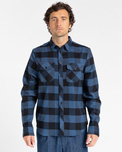 1 Tacoma Flannel Shirt Blue ALYWT00121 Element