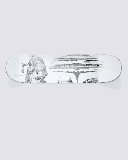 "5 Star Wars ""Empire Strikes Back"" 3 Skateboard Deck Set  ALYXD00106 Element"