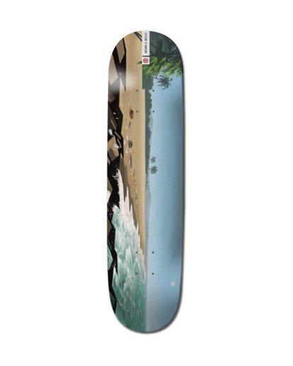 "0 Landscape South America Skateboard Deck 8"" Multicolor ALYXD00207 Element"