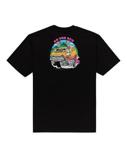 0 Van Run T-Shirt Blue ALYZT00107 Element