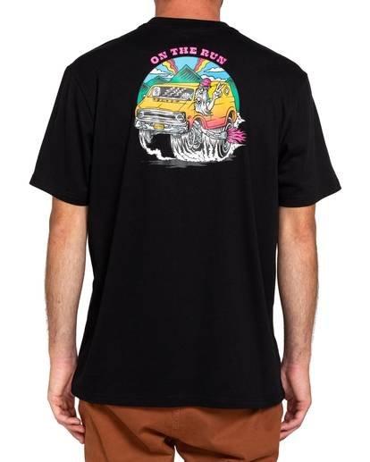 2 Van Run T-Shirt Blue ALYZT00107 Element
