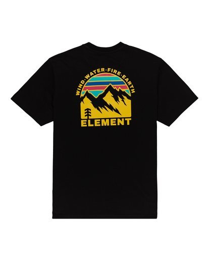 0 Foxwood T-Shirt Blue ALYZT00110 Element