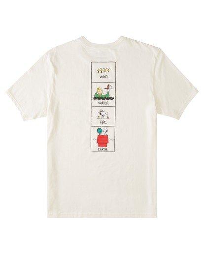 1 Peanuts x Element Page T-Shirt White ALYZT00123 Element