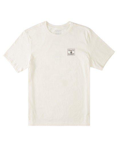 0 Peanuts x Element Page T-Shirt White ALYZT00123 Element