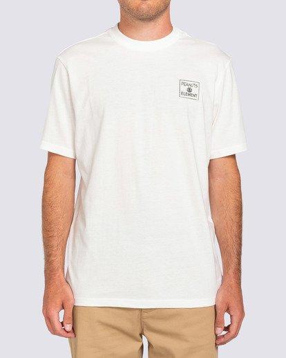 3 Peanuts x Element Page T-Shirt White ALYZT00123 Element