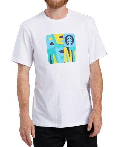 0 Rounder T-Shirt White ALYZT00127 Element