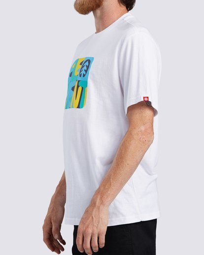 2 Rounder T-Shirt White ALYZT00127 Element