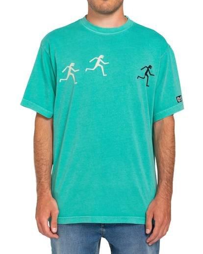 1 Summit T-Shirt Green ALYZT00132 Element