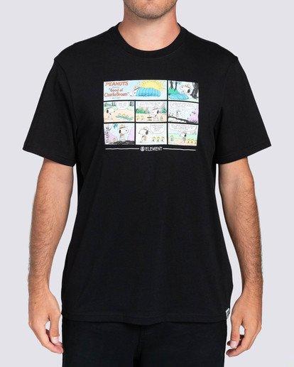 2 Peanuts x Element Camper T-Shirt Blue ALYZT00160 Element