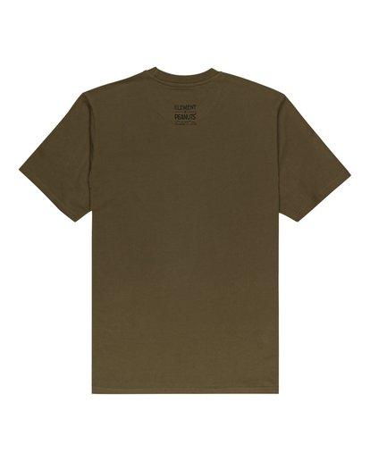 1 Peanuts x Element Adventure T-Shirt Beige ALYZT00161 Element