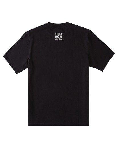 1 Peanuts x Element Adventure T-Shirt Blue ALYZT00161 Element