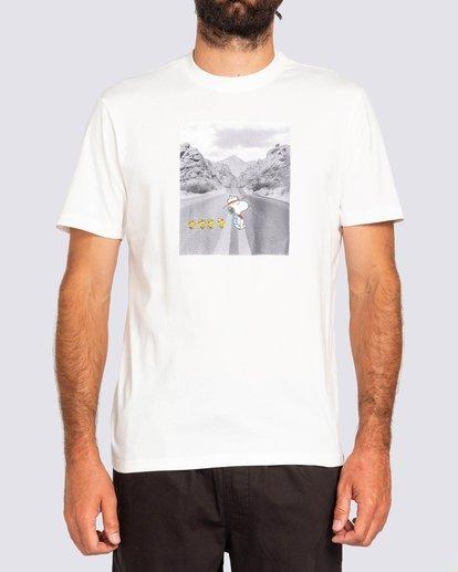2 Peanuts x Element Adventure T-Shirt White ALYZT00161 Element