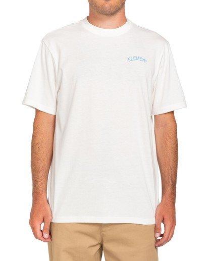 3 Peanuts x Element Emerge T-Shirt White ALYZT00163 Element
