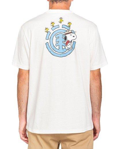 2 Peanuts x Element Emerge T-Shirt White ALYZT00163 Element
