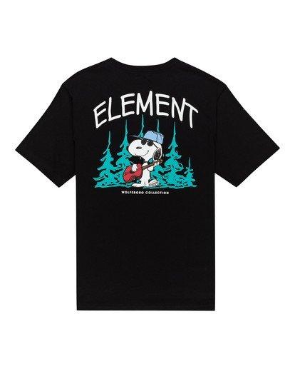 0 Peanuts x Element Good Times T-Shirt Blue ALYZT00164 Element
