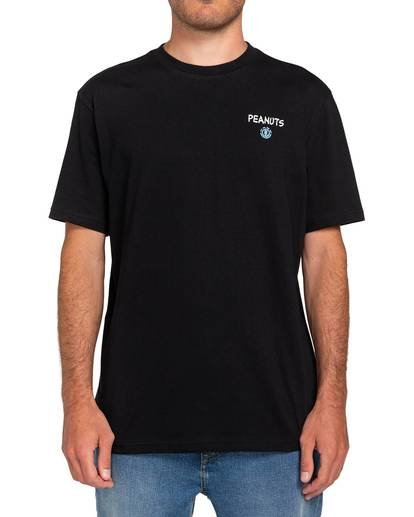 3 Peanuts x Element Good Times T-Shirt Blue ALYZT00164 Element