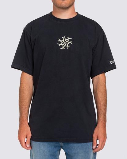 1 Mandala T-Shirt Blue ALYZT00181 Element