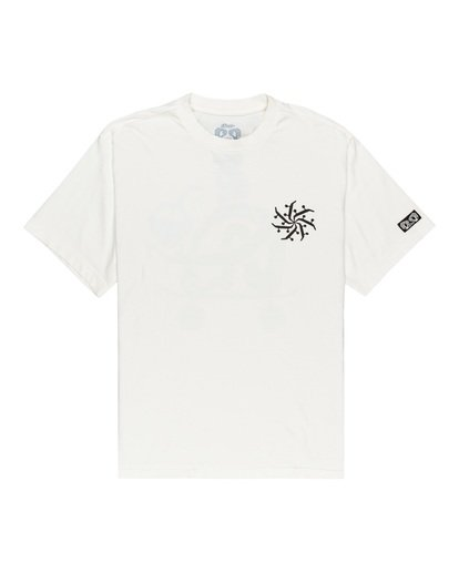 1 After Skate T-Shirt White ALYZT00182 Element