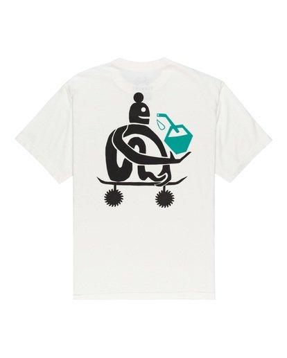 0 After Skate T-Shirt White ALYZT00182 Element