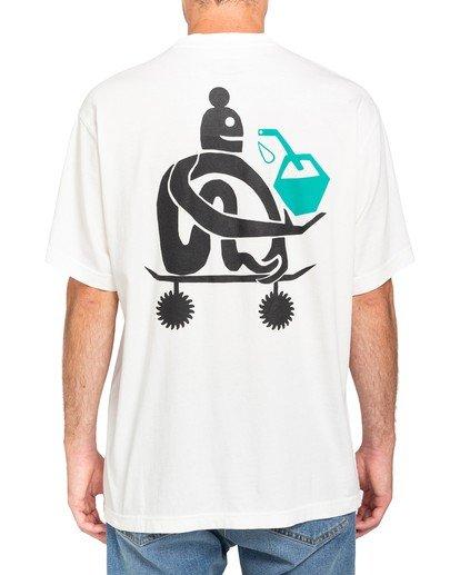 2 After Skate T-Shirt White ALYZT00182 Element
