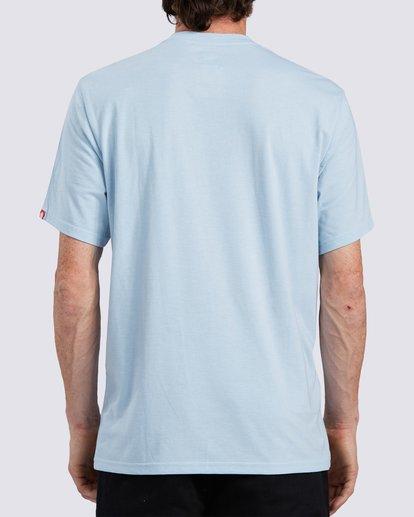 1 Logo Wick UPF 50+ T-Shirt Blue ALYZT00207 Element