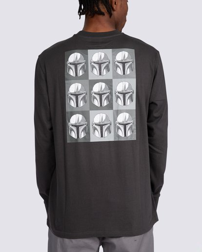 1 Star Wars™ x Element Helmet Long Sleeve T-Shirt White ALYZT00259 Element
