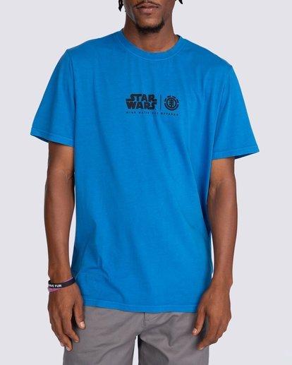 4 Star Wars™ x Element Water T-Shirt Blue ALYZT00261 Element