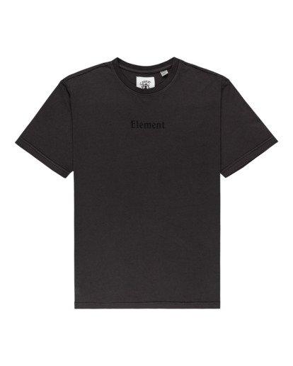 0 Shrooms Guide Short Sleeve T-Shirt Black ALYZT00273 Element