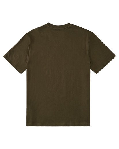 1 Blazin' Short Sleeve T-Shirt Beige ALYZT00276 Element