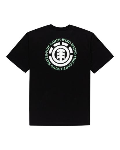 1 Seal Short Sleeve T-Shirt Blue ALYZT00278 Element