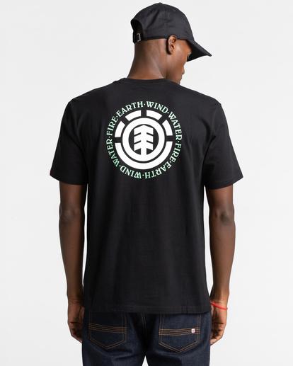 3 Seal Short Sleeve T-Shirt Blue ALYZT00278 Element