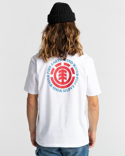 3 Seal Short Sleeve T-Shirt White ALYZT00278 Element