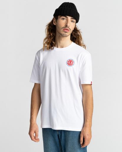 2 Seal Short Sleeve T-Shirt White ALYZT00278 Element