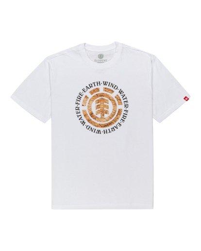 0 Idyl Wild Short Sleeve T-Shirt White ALYZT00281 Element