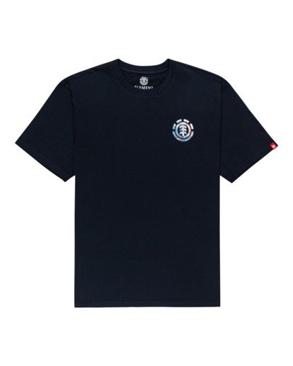 0 Questa Short Sleeve T-Shirt Blue ALYZT00282 Element