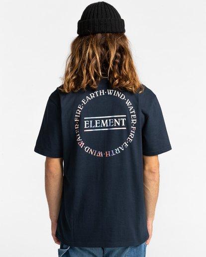 3 Questa Short Sleeve T-Shirt Blue ALYZT00282 Element