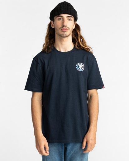 2 Questa Short Sleeve T-Shirt Blue ALYZT00282 Element