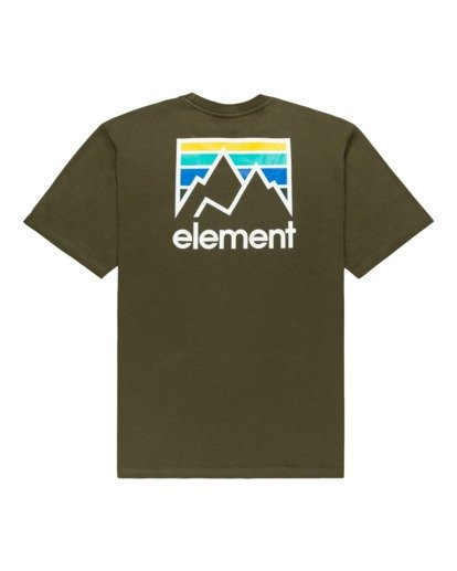1 Joint Short Sleeve T-Shirt Beige ALYZT00284 Element