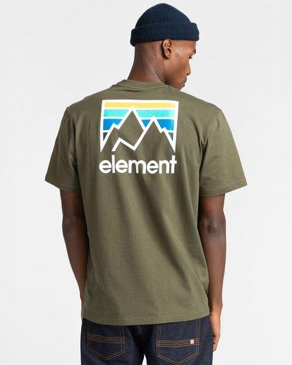 3 Joint Short Sleeve T-Shirt Beige ALYZT00284 Element