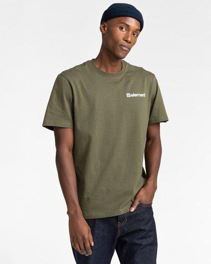 2 Joint Short Sleeve T-Shirt Beige ALYZT00284 Element
