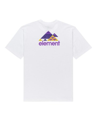 1 Elko Short Sleeve T-Shirt White ALYZT00287 Element
