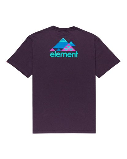 1 Elko Short Sleeve T-Shirt Purple ALYZT00287 Element
