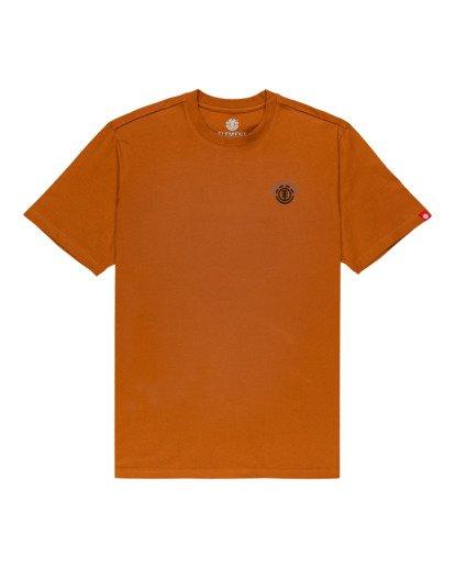 0 Blanton Short Sleeve T-Shirt Brown ALYZT00289 Element
