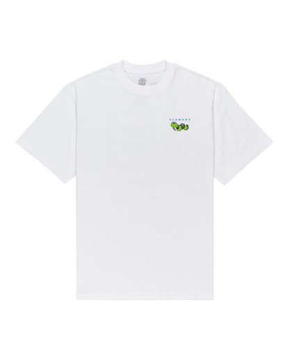 0 Ganzo Short Sleeve T-Shirt White ALYZT00298 Element