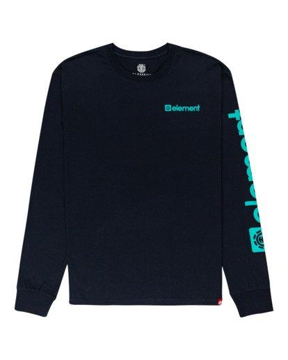 0 Joint Long Sleeve T-Shirt Blue ALYZT00299 Element