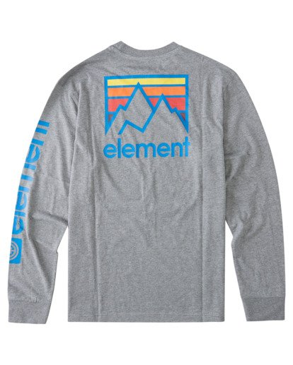 1 Joint Long Sleeve T-Shirt Grey ALYZT00299 Element