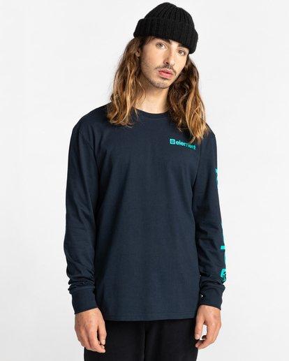 2 Joint Long Sleeve T-Shirt Blue ALYZT00299 Element