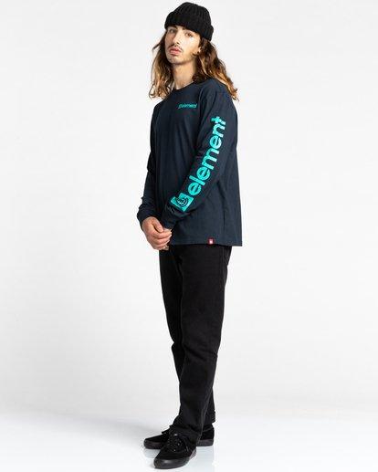 3 Joint Long Sleeve T-Shirt Blue ALYZT00299 Element
