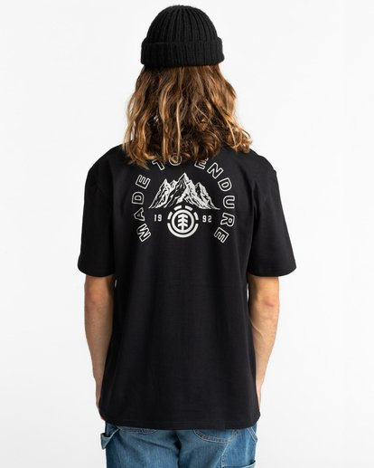 3 Ivyhill Short Sleeve T-Shirt Blue ALYZT00319 Element